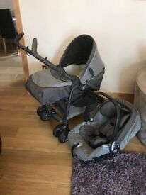 Mamas and papas 3 in 1 stroller