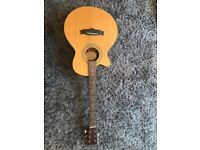 Tanglewood left handed guitar