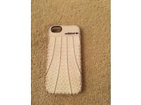 Adidas iphone 5/5s case white