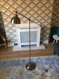 Antique Style Brass Floor Lamp
