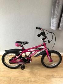 """Ammaco girls 16"""" bmx bike"""