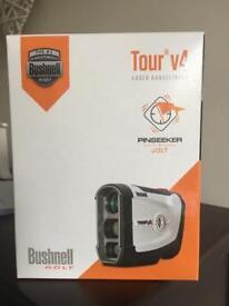 New Bushnell Tour T4 Laser Rangefinder (Pinseeker + Jolt)