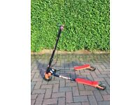 Y-fliker scooter, red y flicker, good condition, ideal for Christmas
