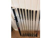 Set of Wilson X31 golf clubs