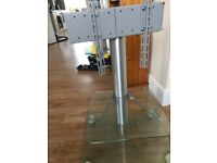 """Glass TV stand up to 44"""""""