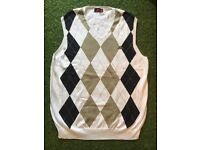 Robbed Di Kappa Knitted Vest Mens
