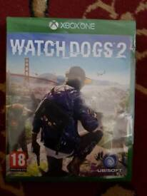 XBOX ONE GAME WATCH DOG2