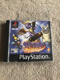 Spyro: Year of the Dragon PlayStation 1