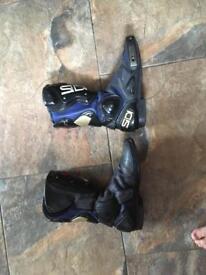 Sidi Motorcycle Boots vertigo/vertebra size 8 / 42