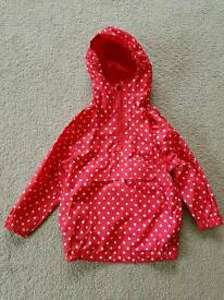 Girls waterproof jacket