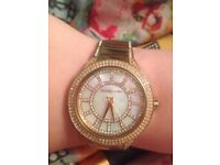 Amazing condition Michael kors mother of pearl watch