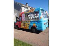 1998 Ford Transit Smiley Ice Cream Van