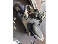 Two mopeds for spares or repair