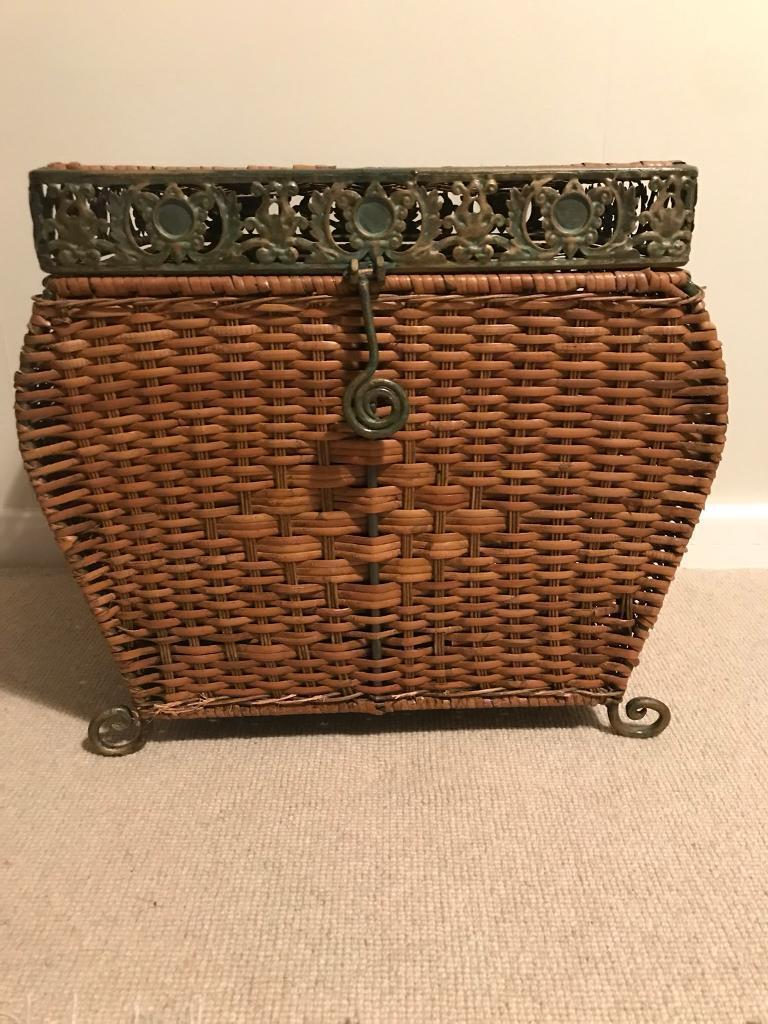 Decorative Laundry Hamper With Lid Zef Jam
