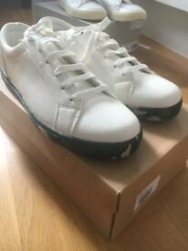 Men ASOS white trainers new