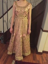 Long Indian occasional dress