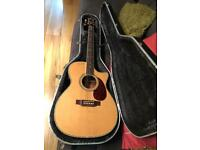 Crafter TC035/N Cutaway Electro Acoustic Guitar