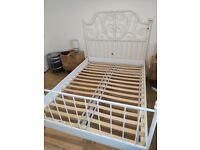 LEIRVIK IKEA Standard Double bed frame