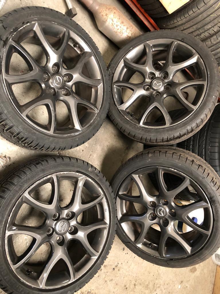 Mazda 3 6 mps alloy wheels Honda jdm rx8 | in Saughton, Edinburgh | Gumtree