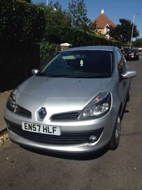 Renault Clio, 2007, Diesel. Full service history. £30 tax per year.