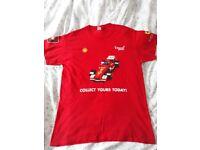 Shell v power logo t shirt