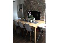 Ikea wood extendable table