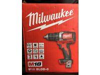 Milwaukee m18 brushless drill brand new boxed !!!!