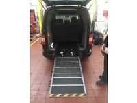 Vw Caddy Maxi Manual Black 1.9 Diesel 7 Seater/Wheelchair Accessible.