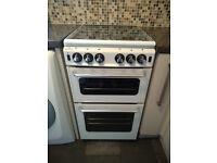 NEW WORLD - 500TSIDL Gas Cooker - White