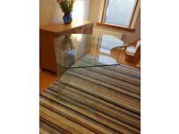 Quality Glass Desk For Sale (John Lewis)