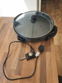 Camping Electric Hot Plate (can also be deep pan)