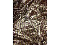 Marbled Velvet Digital Printed Fabric