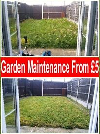 Garden maintenance, lawn mowing, waste removal, hedge cutting, gardener, strimming, clearance