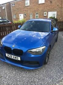 BMW 1 series M sport with M performance Edition