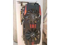Asus R9 280X DirectCU II TOP 3GB 1070MHz