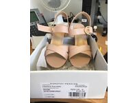 Brand new Dorothy perkins nude shoes