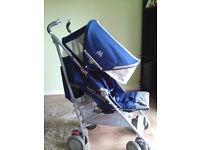 Maclaren Techno XT Stroller Medieval Blue/Silver