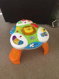 Babies activity table