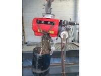 ARO 7718E 1/4-Ton 500lb Air Pneumatic Chain Hoist Lift Travel