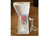 NEW Apple iPod nano 16GB 7th Generation Space Grey Lightning adaptor & cable