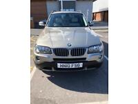 BMW X3 2010 for sale or swap for quad 4x4 and cash my way