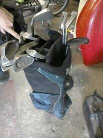 Set of Adult golf clubs