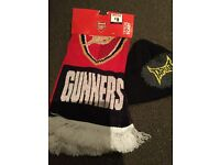 Arsenal scarf and Tapout hat juniour
