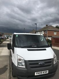 White ford transit swb 09 plate 38k miles lowest miles you will see on a van for the price