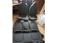Audi A3 5 door hatchback seats 2014/16
