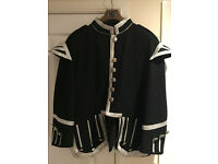 Doublet Tunic for KILT or Scottish Tartan Army