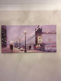 Canvas of London Bridge