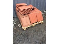 190 Marley red roof tiles, new and never been used
