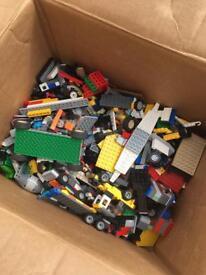 Huge bundle of Lego. Just over 10.8kg.