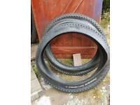 Fat bike tyres